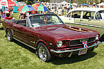 1966 Ford Mustang Troy, MT July 4th vintage car and truck show