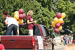 Troy Trojans Booster Queen, Troy,  MT July 4th 2006 Parade
